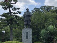 岡崎公園 徳川家康公銅像