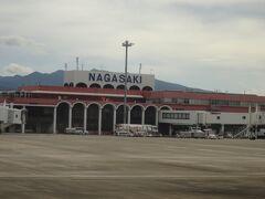 長崎空港に到着しました。  伊丹長崎線、これだけ眺めがいいとは知りませんでした。幸先良いスタートです。