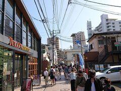 江の島に向かいます。「すばな通り」の景色です。