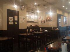 前夜に引き続きときわ食堂。 駅前店は初めて