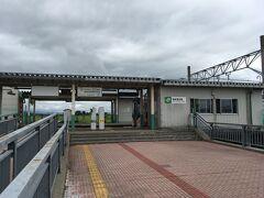 13:00の上りに乗って1駅、西新発田駅から見えたイオンモールに寄ることにします。