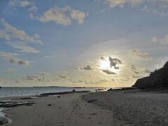 星砂の浜へ。