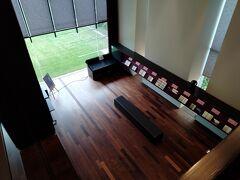 東洋文庫(ミュージアム)に入館して、チケット購入後、この部屋に入ります。