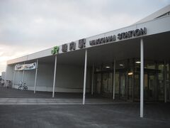 おはようございます。 最近日の出と共に目覚めてしまいます(;^_^A 昨夜来た稚内駅を再度訪問しましょう。