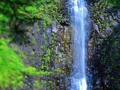 これでゴザイマス!「玉簾の滝」です! 落差63メートル。見事!としか言い様がない 美しい滝です!