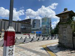 原宿駅前の神宮橋。