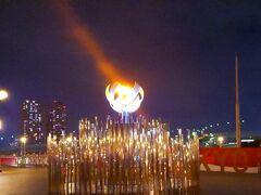 夢の大橋には、今回の大坂なおみ選手からもらった種火をもらって移設しています。