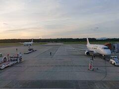 JAL2392便 熊本19:15→伊丹20:30