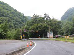 00:38 38.9km 23℃ これより日本ロマンチック街道いろは坂。  00:47 43.9km 21℃ 黒髪平は海抜1,173m。