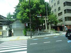 (車窓風景)一昨日、参拝した鳥越神社