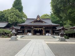 庭園内に神社もあります。とっても静か。