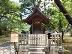 出雲大社の方へ戻ります。野見宿禰神社に