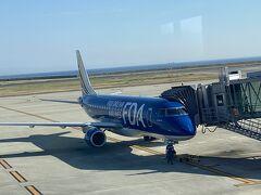 はじめまして(^^) 神戸空港in FDA13号機ネイビー https://www.fujidream.co.jp/sp/flight/kizai.html コードシェア便なのでマイルもFOP付与されました