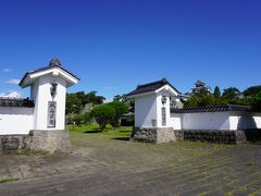とことこ歩いて、小峰城跡へ! 良いお天気!
