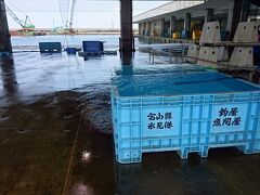 何回も来たことがある富山県ですが、氷見で新鮮な海鮮丼を食べるため、金沢に行く前に氷見漁港へ、初めて立ち寄ることにしました。今はシーズンでないので有名なブリは食べられないのが残念。