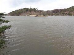 こちらが南湖の一番の絶景.
