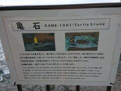 江の島岩屋の亀石