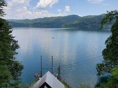 最後は青木湖。  一番大きく、アトラクションなども含めて一番開けている感じがしました。
