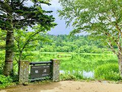 姫沼は、鮮やかな緑が映り込んでとてもすがすがしいです。