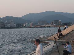島根37 松江14 宍道湖夕日テラス  80/  12