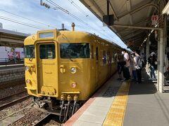 それではまずは下関駅から山陽本線に乗り込みます。 朝とは言え全然電車無いのでダイヤ確認お忘れなく。
