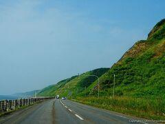 ひまわりの里の後は、留萌から日本海側に出て、絶景で有名なオロロンラインを一気に北上します。
