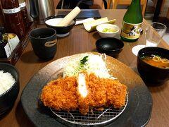 夕飯は駅前の平田牧場で。 さくっと食べてさくっとホテルへ行きましょう。