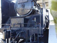 こちらは次に訪ねた成知公園に展示してあるC56です。