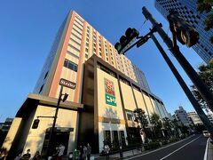 ホテルは、押上駅から徒歩1分、スカイツリーの目の前です(^-^)