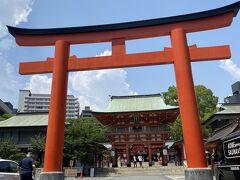 夏詣 生田神社