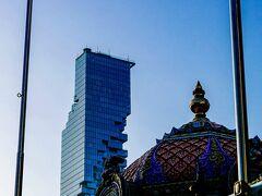 以前来た事のあるヒンズー教のお寺とマハナコンタワー