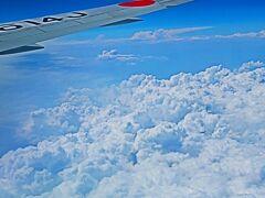 鹿児島空港へ JAL649便    70/   1