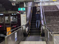 恵美須町駅で降りました。
