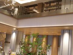 ウエステイン都ホテル京都のロビー
