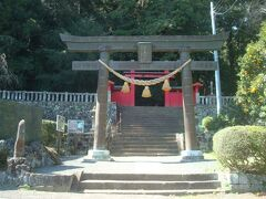 伊豆オルゴール館から八幡宮来宮神社まで、徒歩12分かかりました。