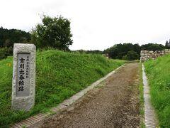 ここから北西に走り、吉川元春館跡に到着。
