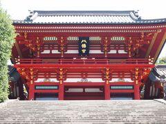「鶴岡八幡宮」は堂々としていて、さすがの風格。 鎌倉を代表する顔ですね!