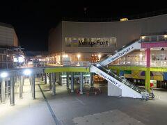 青海駅方面を振り返ってみた感じ。 パレットタウンってもうすぐなくなっちゃうんですよね。 今年から来年に順番になくなるという発表があったようです。 2025年にアリーナを含む複合施設ができるという話ですね。