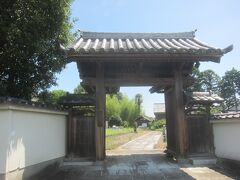 古墳公園の中にあるお寺です 忍藩の願主である松平氏の菩提寺になっていました
