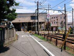 三輪神社から見た本郷駅。 炎天下のサイクリング。 結構痩せました。  ここまでご覧いただきありがとうございました。