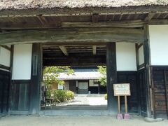 大鐘家の門です。