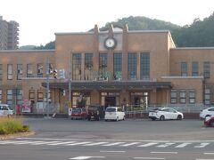 小樽駅に戻って来ました。宿泊しているホテルはすぐ近くです。