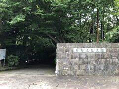 岩海岸から歩いて20分、真鶴岬の付け根、丘の上にある荒井城址公園。