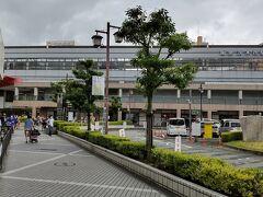 ●阪急茨木市駅  とっても立派な阪急茨木市駅。 何だか、新幹線でも通ってそうな風貌ですね(笑)。 お腹が満たされた茨木ランチでした。