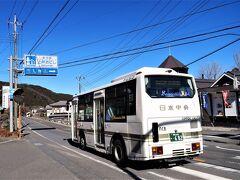 12:38 10分遅れで体験学習館マグに着きました。     (上野村ふれあい館から1時間48分・運賃1530円)  休憩のあった万場バス停を2分遅れで発車、途中工事のため片側通行が数ヶ所あり10分延となりました。まさか、こんなに遅れるとは想定外でした。