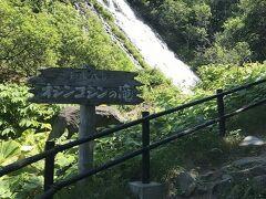 ホテルをチェックアウトして、「オシンコシンの滝」に立ち寄りました。