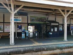 JRで丸亀から琴平の途中の善通寺駅 レトロな感じが良いです。