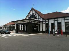 JR琴平駅に到着 ちょっと先に琴電の琴平駅があります。