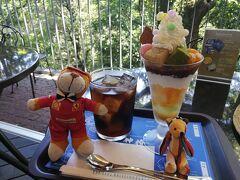 あまりに暑いので、神椿カフェでひといき (一番暑い14:00頃)