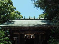 隣接する報徳二宮神社へ  小田原生まれの偉人、 二宮尊徳(金次郎)を御祭神とする 神社です。